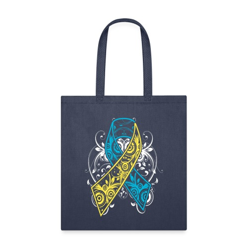 Down syndrome Ribbon - Tote Bag