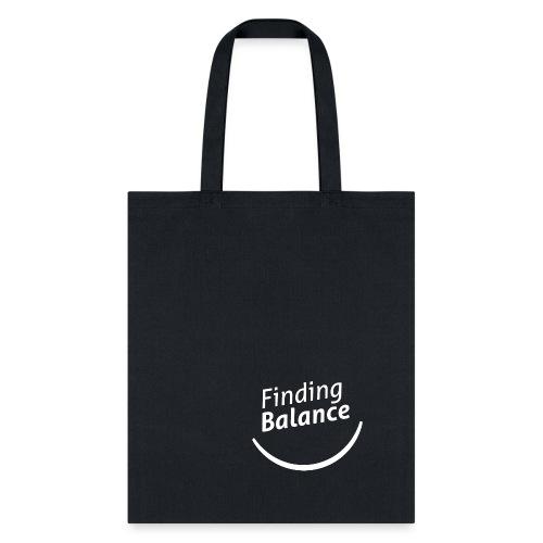 FB Logo White - Tote Bag