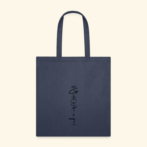 Downwards ghost - Tote Bag
