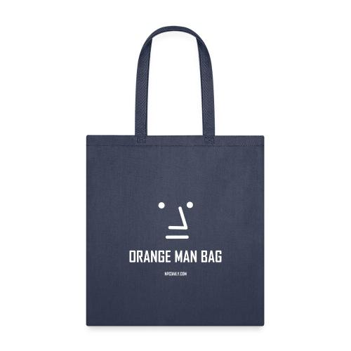 orange man bag - Tote Bag