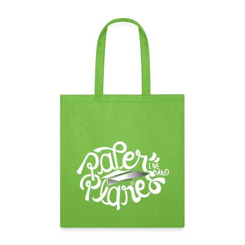 Paper Planes Logo White - Tote Bag