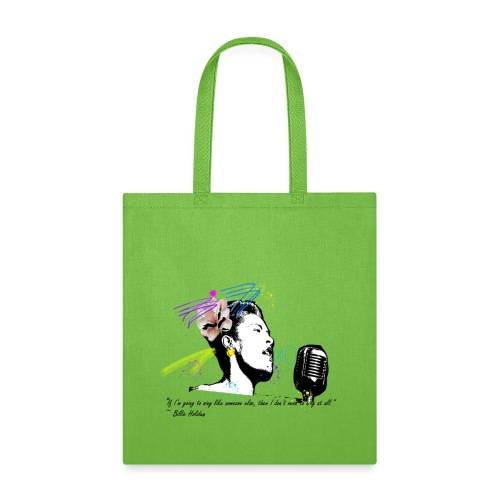 Homage: Billie Holiday - Tote Bag