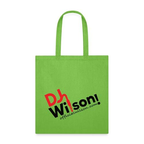 DJ Wilson Logo - Tote Bag