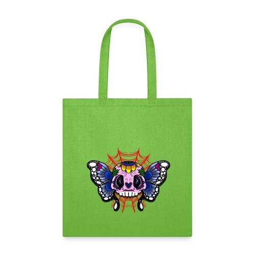 skull butterfly - Tote Bag