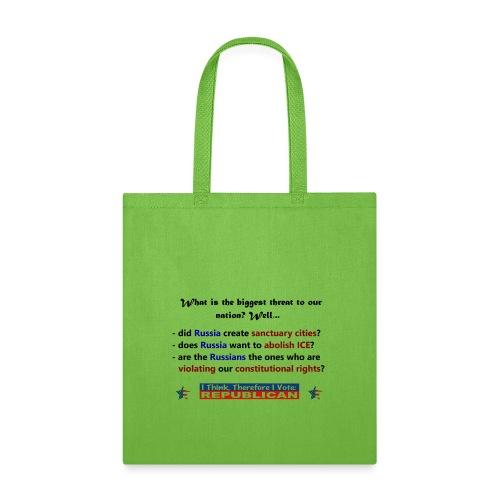 A vote for America. - Tote Bag