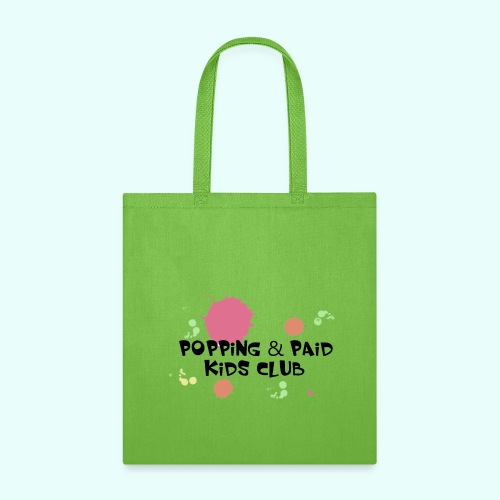 Popping & Paid Kids Club - Tote Bag