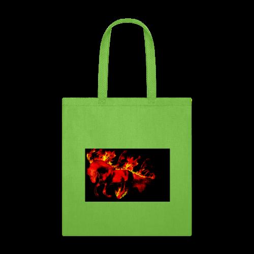 flaming horse - Tote Bag