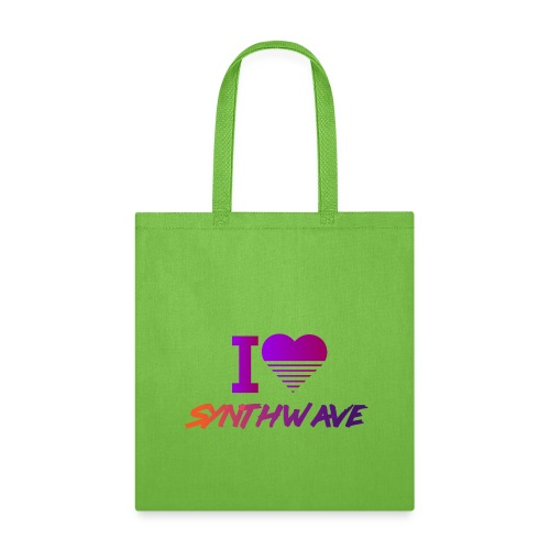 I heart synthwave - Tote Bag