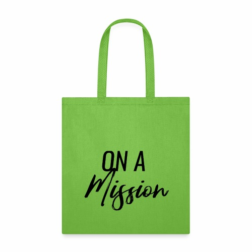 On A Mission Logo - Tote Bag