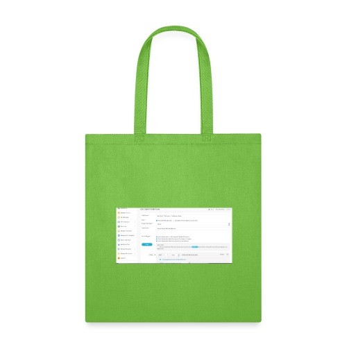 drip plan - Tote Bag