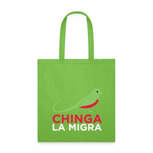 El quetzal dice que Chinga La Migra - Tote Bag