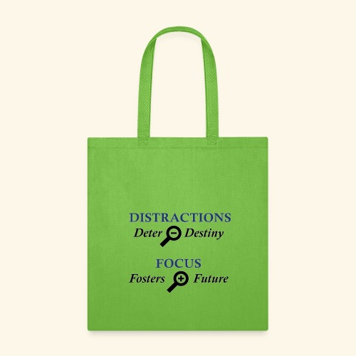 Distraction Deter Focus Fosters - Tote Bag