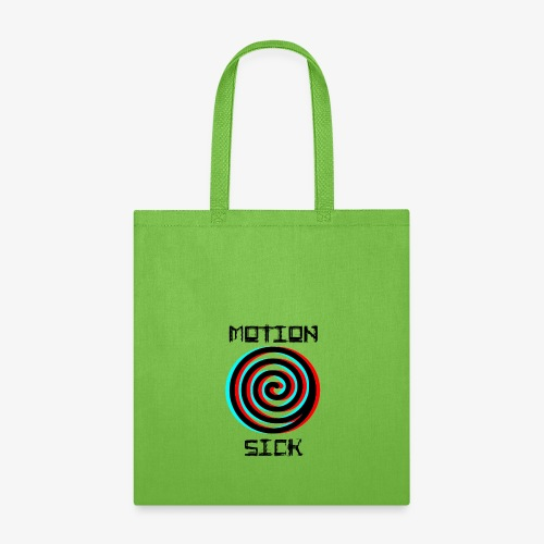 Motion Sick Black - Tote Bag