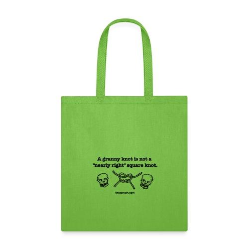 Granny Knot Shirt - Tote Bag