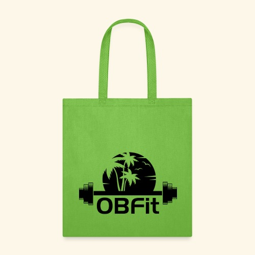OB Fit Black - Tote Bag