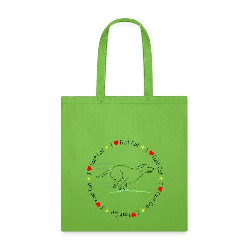 Fast Cat - Tote Bag