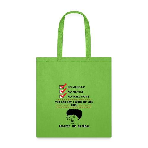 I WOKE UP LIKE THIS - Tote Bag