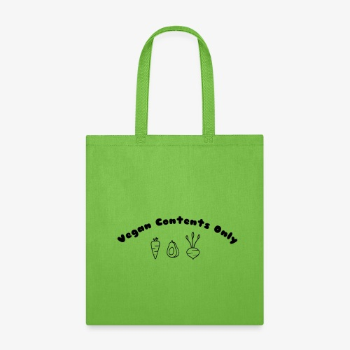 Vegan Contents Only - Tote Bag