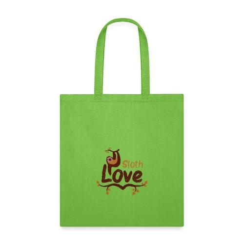 sloth love - Tote Bag