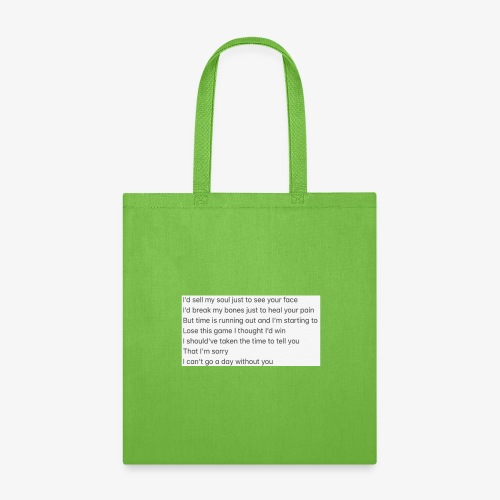 Love Song - Tote Bag