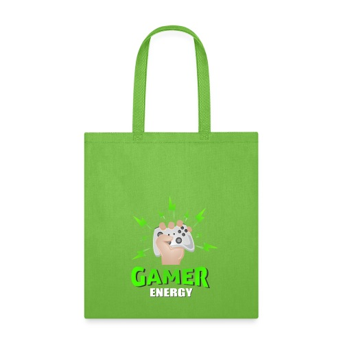 Gamer energy shirt game player for men and women - Tote Bag