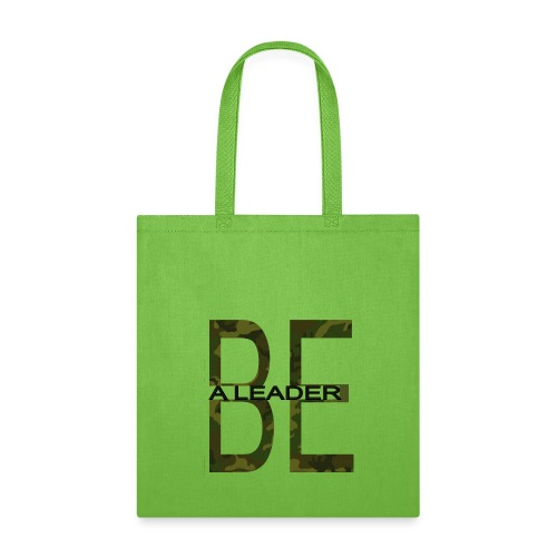 BE A LEADER CAMO - Tote Bag