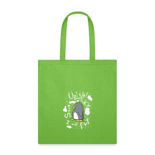 up up pinguin - Tote Bag