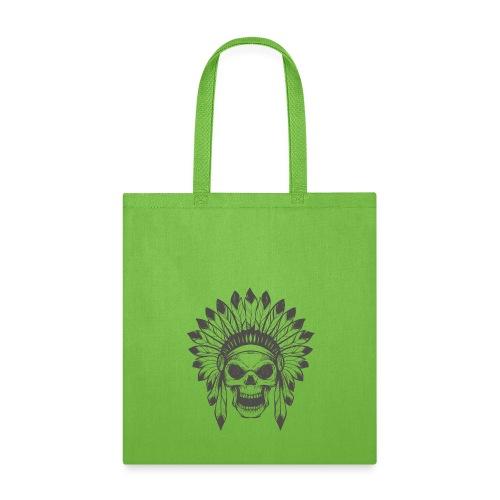 Indian skull - Tote Bag