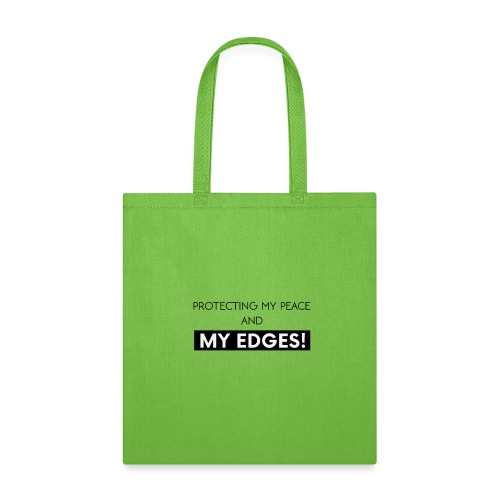 Peace and Edges - Tote Bag