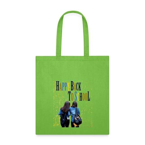 happy back to school - Tote Bag