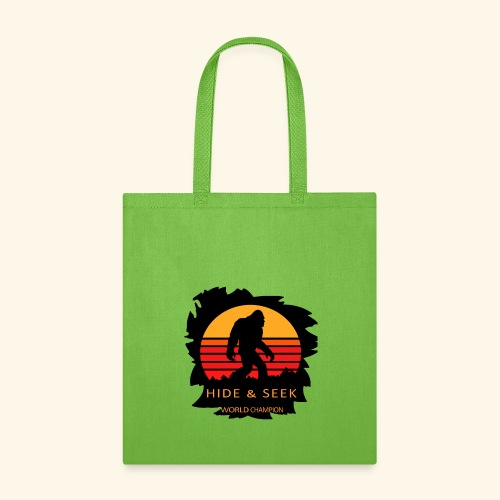 Hide And Seek World Champion T-shirt Bigfoot - Tote Bag