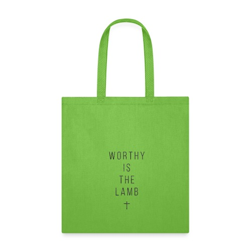worthy is the lamb - Tote Bag