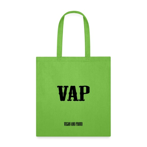 VAP Vegan and Proud - Tote Bag