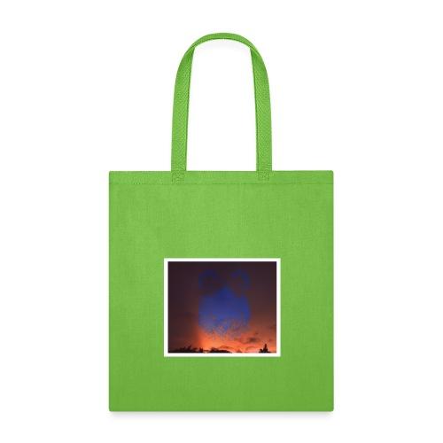 sunset floating buns - Tote Bag