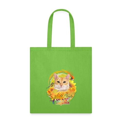 Autumn Cat - Tote Bag