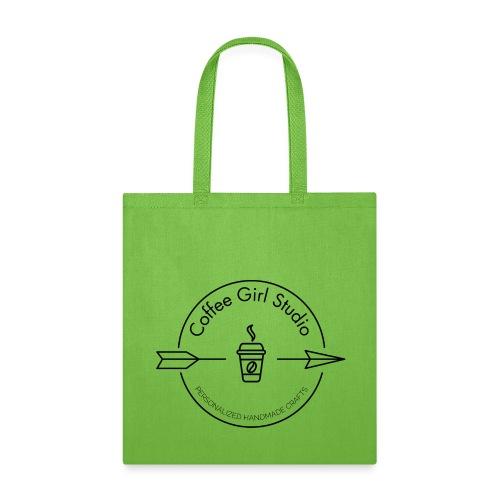 Coffee Girl Studio Logo - Tote Bag