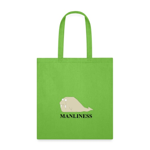 Manliness - Tote Bag