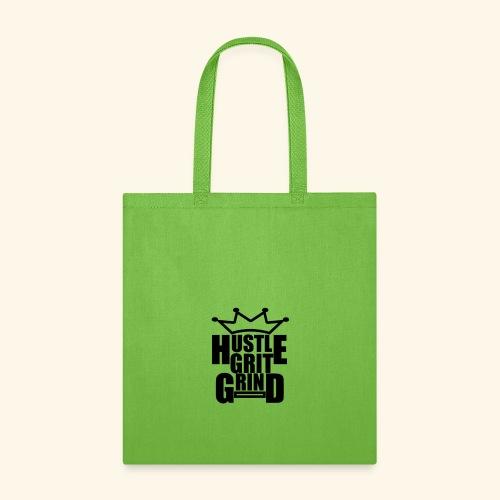 Hustle Grit Grind no color version - Tote Bag