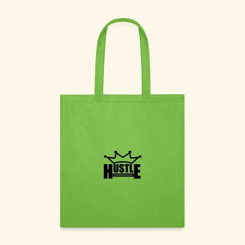 Hustle no color fill version - Tote Bag