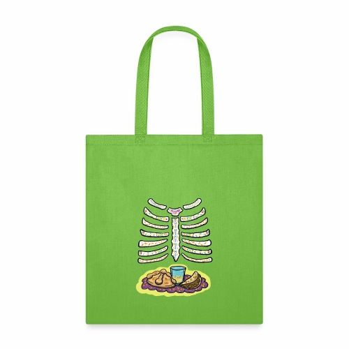 dia de muertos ribcage - Tote Bag