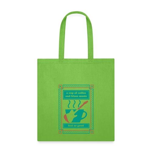 Coffee n Blues - Tote Bag