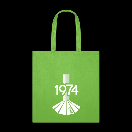 1974 Tour Monochrome Logo - Tote Bag
