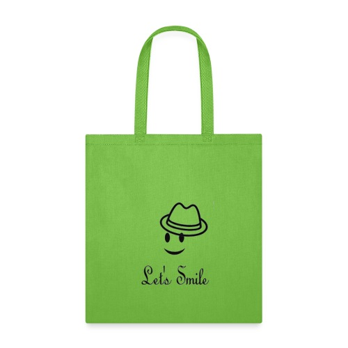 LIMITED EDITION T-SHIRT LET'S SMILE - Tote Bag