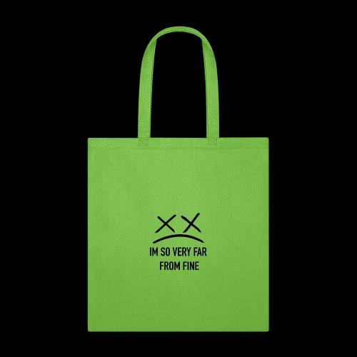 NOT FINE X^X - Tote Bag