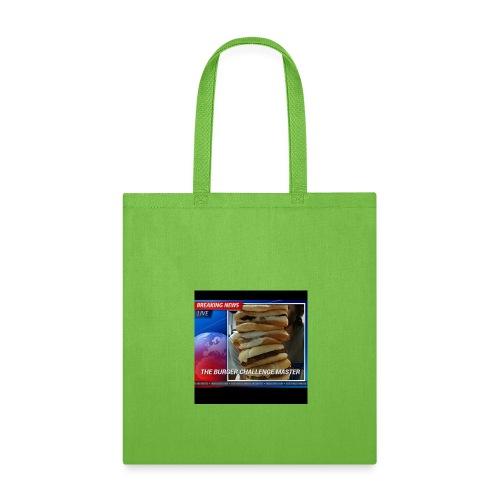Breaking News Live Burger Challenge Master - Tote Bag