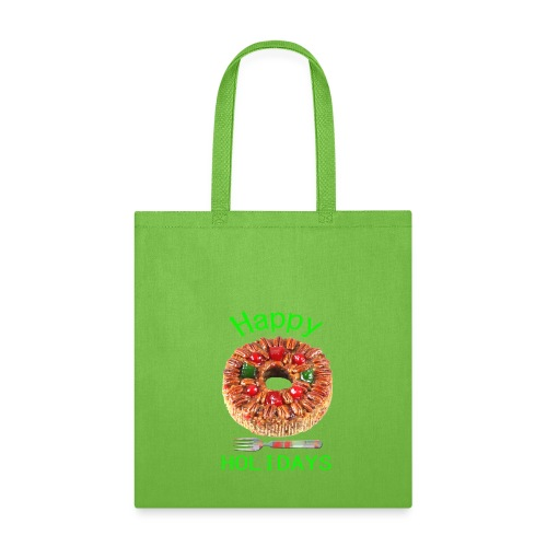 Happy Holidays Fruit Cake - Tote Bag