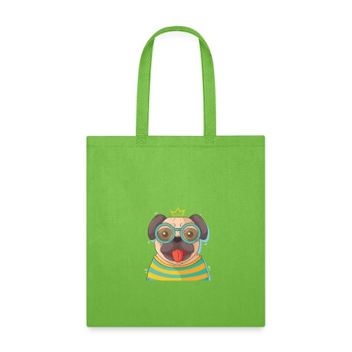 Dog in glass - Tote Bag