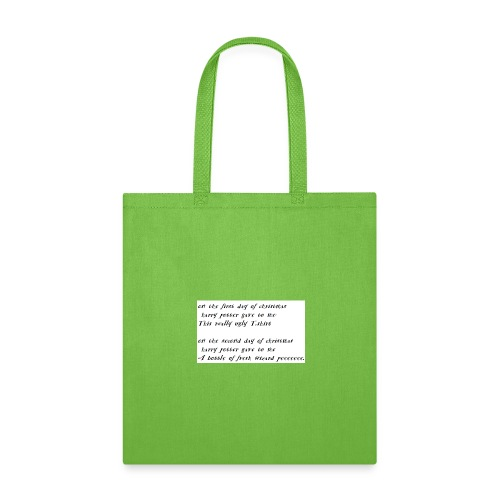 harry potter xmas - Tote Bag