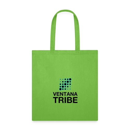 Ventana Tribe Black Logo - Tote Bag