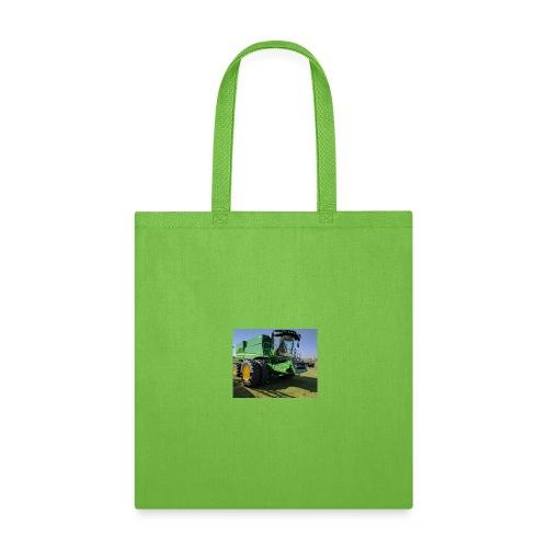 John Deere S670 Combine Shirt - Tote Bag